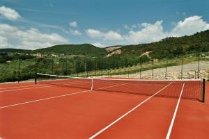 Terrain de tennis en Toscana - Casale del Madonnino