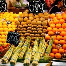 Frutta, verdura e pane fresco ogni giorno